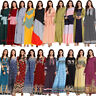Abaya Dubai Kaftan Islamic Women Long Dress Muslim Maxi Party Robe Gown Jilbab