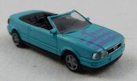 """Audi Cabrio """"Modelleisenbahnausst. Berlin"""" türkis Rietze 1:87 H0 ohne OVP [GO4]"""