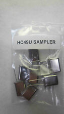 QRP Ham Radio Crystals HC49U (TALL) Sampler Pack 10 Crystals