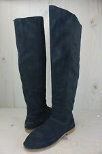 UGG LOMA OVER THE KNEE   BLACK SUEDE BOOTS WOMENS us 10 NIB