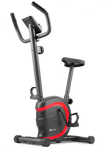 Heimtrainer HS-015H VOX von HS Hop-Sport Ergometer Fitnessgerät Fitnessbike Rot