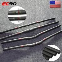 660-760mm Longth MTB Bar Carbon Fiber 25.4/31.8mm Road Bike Flat Riser Handlebar
