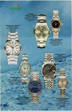 Rolex Watch Manuals, Catalogues & Brochures