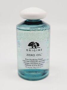 ORIGINS Zero Oil Pore Purifying Toner with Saw Palmetto and Mint 5floz NEW