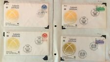 UNITED NATIONS 1985 ILO-TURIN CENTRE FIRST DAY COVERS