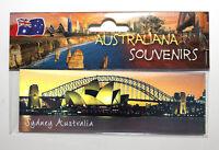 Sydney Australia Opera House and Harbour Bridge, Photo Image Fridge Magnet