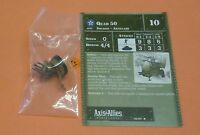 Axis & Allies Miniatures 1939-1945 Quad 50 #36/60 NEW A&A from Booster Pack
