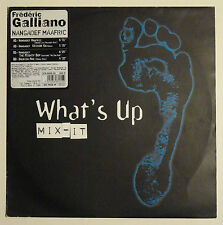 FREDERIC GALLIANO: Nangadef Maafric [LP] French Electro House, What's Up Mix-It