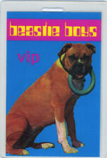 Beastie Boys 1998 Tour Vip Laminated Backstage Pass Numbered