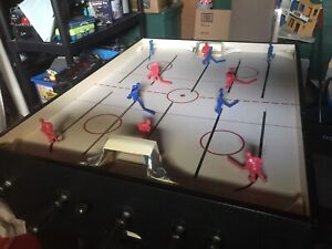 Bubble hockey, Not Table Size. Dimensions: