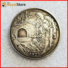 Hobo Nickel Coin roman booteen   Dollar Hand Carved Coins free shipping