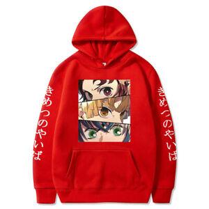 Demon Slayer Hoodie Sweater Kamado Tanjirou Unisex Anime 3D Printed Sweatshirt