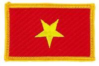 Patch écusson brodé Drapeau VIETNAM VIETNAMIEN FLAG Thermocollant Insigne Blason
