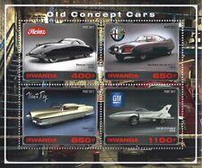 BLOCK ** OLD CONCEPT CARS OLDTIMER AUTOS MANTA RAY GM ALFA ROMEO HEINZ