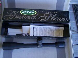 Weaver 10x40mm Grand Slam Rifle Scope ~Japan ~ MIB