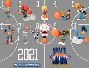 McDonalds Toy Happy Meal Space Jam New Legacy Lebron 2021