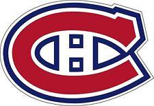 "Montreal Canadiens NHL Hockey bumper sticker wall decor vinyl decal, 5""x 3.5"""