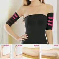 1 Pair Women Calorie Away Weight Loss Arm Shaper Sleeves Slimmer Fat Burner N0H7
