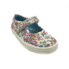 Start-rite Posy Cream Floral Girls Canvas 30% OFF RRP