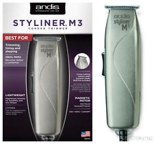 Andis Styliner M3 Corded Magnesium Trimmer # 26155 Lightweight Fixed T-Blade NEW
