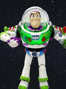 "2010 Deluxe Buzz Lightyear Toy Story 12"" Turbo Glo Anti Gravity Utility Belt"