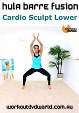 Workout DVD - Barlates Body Blitz HULA BARRE FUSION CARDIO SCULPT LOWER