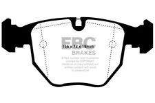 EBC Yellowstuff Front Brake Pads BMW 5 Series E39 530 3.0 Touring 2000 > 03