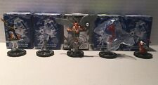 DC HEROCLIX LE Lot of 5 - Carter Hall Rex Mason Tornado Tyrant Brain +