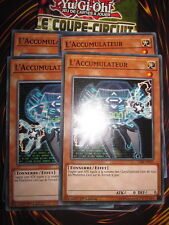 YU-GI-OH! PLAYSET (4 CARTES) L'ACCUMULATEUR CIBR-FR031 NEUF EDITION 1