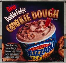 Dairy Queen Promotional Poster For Backlit Menu Sign Fudge Cookie Dough dq2