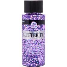Folkart Glitterific Glitter Paint 2oz-purple