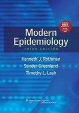 Modern Epidemiology by Timothy L. Lash, Kenneth J. Rothman and Sander...