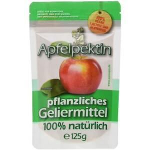Apfelpektin   100% Vegan   Natürliche Alternative zur Gelatine   125g