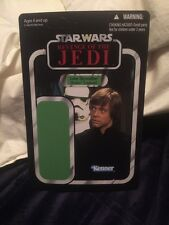 SDCC STAR WARS vintage collection proof card Revenge Of Jedi Luke Endor VC23