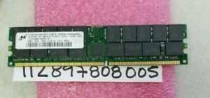 2GB DDR1 DDR PC2700R  333MHZ  333MHZ 184PIN 2.5V DUAL RANK  2RX4 128X4 RDIMM