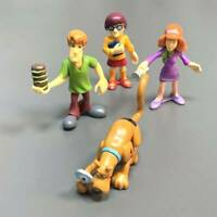 Lot 4 Scooby-Doo VELMA Shaggy Daphne 2.5'' Action Figure Toy 50th Anniversary sd