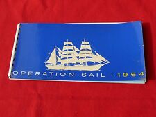 1964 1st Ed Illustrated + JFK Panoramic OPERATION SAIL World Cutters Visit US