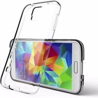 Clear Transparent Phone Case For Samsung Galaxy S5 S6 S7 Silicone TPU Gel Cover