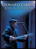 Leonard Cohen: Live in London DVD (2010) Leonard Cohen cert E ***NEW***