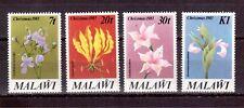 MALAWI 1983 SET MINT NH # 423/26, CHRISTMAS, LOCAL FLOWERS !!