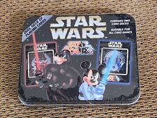 NEW Star Wars Disney Star Tours 2008 Two Decks Tin Playing Cards Mickey Mouse