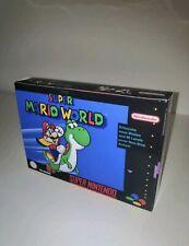 Super Mario World Super Nintendo SNES -BOX-