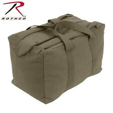 Olive Drab Tactical Canvas Duffle Bag - Rothco Canvas Mossad Type Cargo Bag