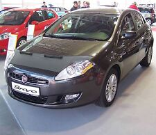 CAR HOOD BONNET BRA fit Fiat Bravo since 2007  NOSE FRONT END MASK TUNING