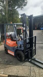 Toyota 1.8 Ton forklift 3.7 Lift height solid tyres good condition $5,999+GST