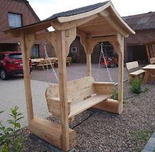 Hollywoodschaukel mit Dach.Holzmöbel.Schaukel.Gartenmöbel.