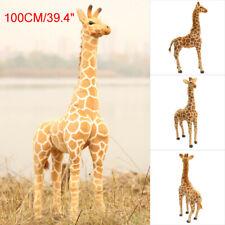 1M Plush Giraffe Doll Stand Toy Big Large Cotton Animal Soft Child Kids Gift