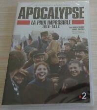 DVD PAL ZONE 2 FILM DOCUMENTAIRE APOCALYPSE LA PAIX IMPOSSIBLE 1918 1926 NEUF