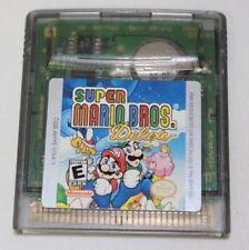 Super Mario Bros Brothers Deluxe Nintendo Game Boy Color Original Cartridge ONLY