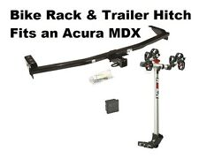 TRAILER HITCH & ROLA 2 BIKE CARRIER RACK COMBO FOR 2001-2006 ACURA MDX CLASS 3